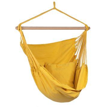 Organic Yellow Enkelt Hængekøjestole