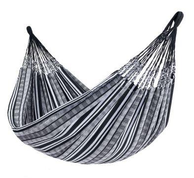 Comfort Black White Dobbelt Hængekøje