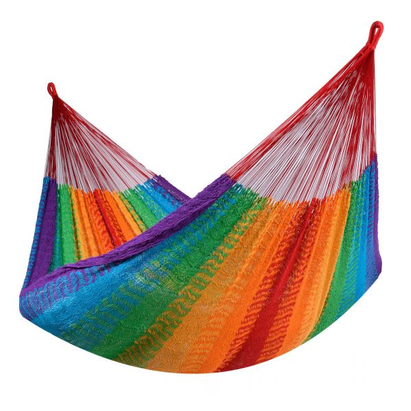 'Mexico' Rainbow Dobbelt Hængekøje