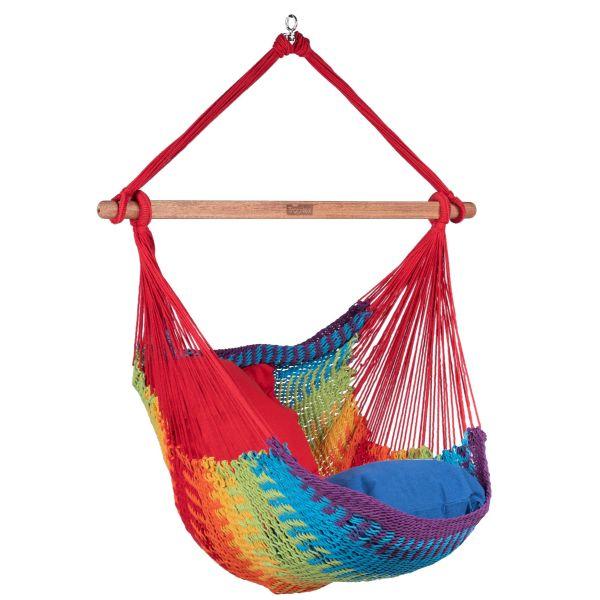 'Mexico' Rainbow Enkelt Hængekøjestole