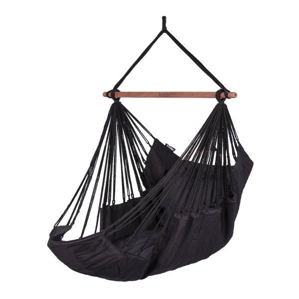 'Sereno' Black Enkelt Hængekøjestole