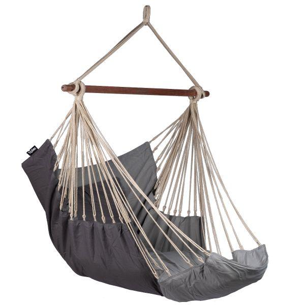 'Sereno' Grey Enkelt Hængekøjestole